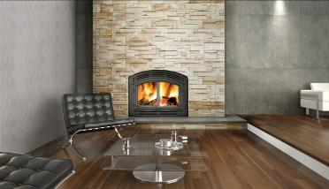 Napoleon NZ3000 Hi Efficiency Wood Burning Fireplace.